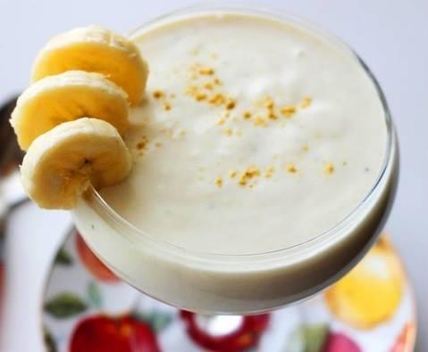 Банановый десерт с кефиром