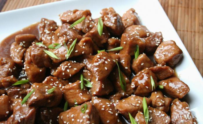 Как замариновать мясо в соевом соусе