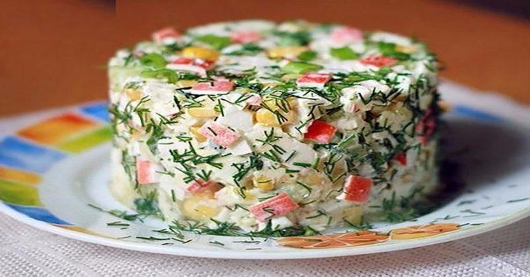 салат вкусный и быстрый фото