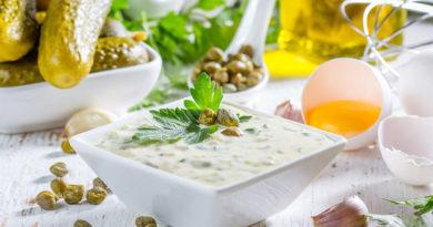 Соус тартар: пошаговый рецепт с фото