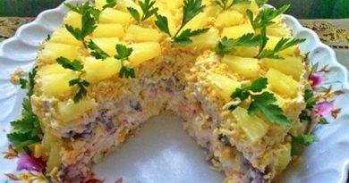 Салат «Чудо» — очень нежный и вкусный
