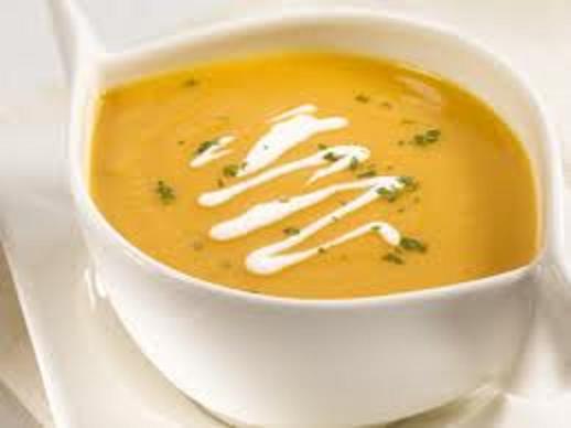 Вкусный осенний обед (Суп – пюре с имбирем)