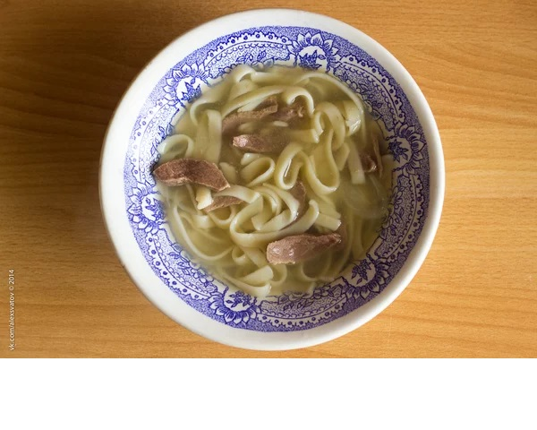 Шулэн. Бурятский суп-лапша