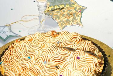 Лимонно-апельсиновый пирог