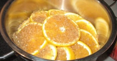 Конфеты из апельсинов