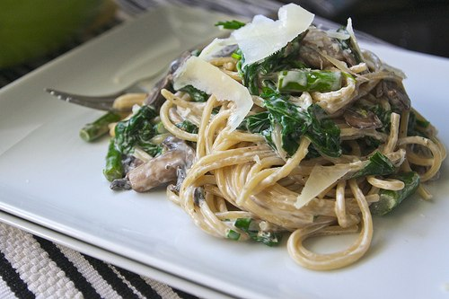 spagetti-griby-sparzha