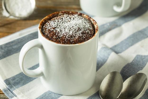 Кофейный кекс в кружке
