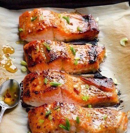 Вкуснейшая рыба, запеченная в фольге.