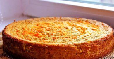Самый вкусный морковный пирог