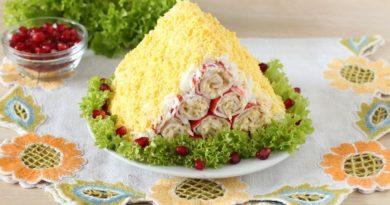 Очень вкусный и оригинальный салат, убедитесь сами
