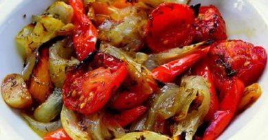 Идеальные Овощи запечённые в маринаде: фантастически вкусно