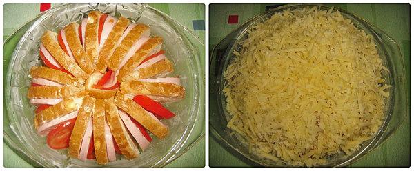 Невероятная идея для завтрака: «пирог» из батона за 10 минут»