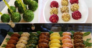 «Салатное ассорти» - три вида шариков