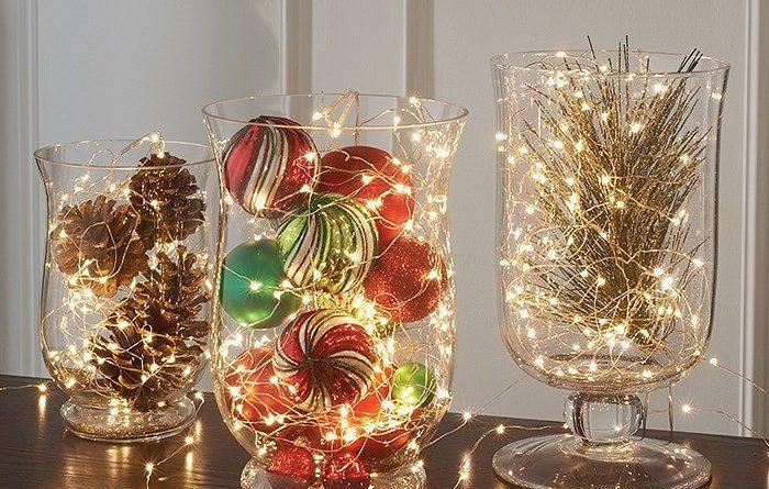 Идеи Новогоднего декора изгирлянд (Часть 1)