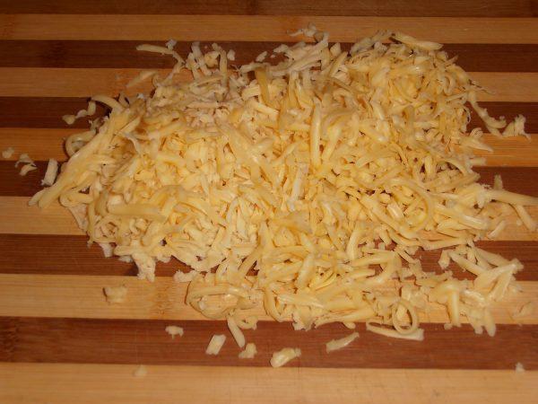 Сырная начинка с ветчиной для пирожков из лаваша