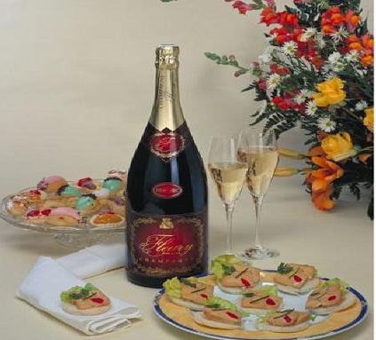 О выборе закусок к шампанскому