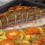 рыба картофель