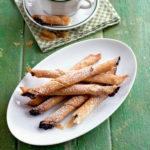 сладкие трубочки к чаю