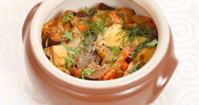 Рецепт «Курица с картофелем в горшочке