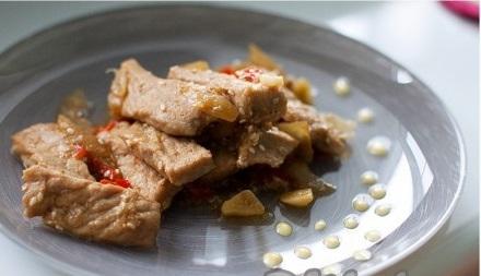 Вкусные бульгоги из свинины