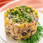 salat_iz_kurinoy_pecheni_s_gribami