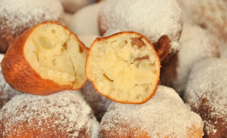 Oliebollen - голландские рождественские пончики