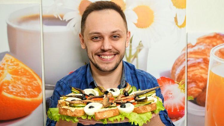 Новогодние бутерброды на закуску