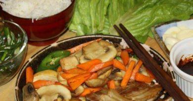 Вкуснейшая корейская закуска из свиной грудинки - САМГЁПСАЛЬ