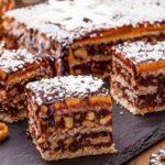 Королевский торт без муки с масляным кремом
