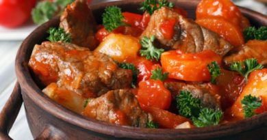 Венгерский пёркёльт: традиционная свинина