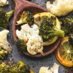 Брокколи и цветная капуста в духовке