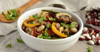 gribnoi-salat-s-fasolyu