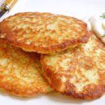 Как приготовить белорусские картофельные драники без муки и яиц