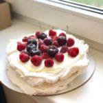 Летний торт Павловой, готовим быстро и вкусно!