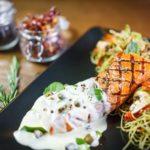 Сливочно-чесночный лосось по-тоскански