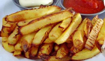 """Картофель """"Ложный фри"""" в духовке! Полезный и вкусный!"""