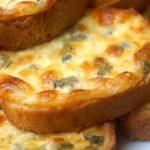 Сырные Гренки «пятиминутки»