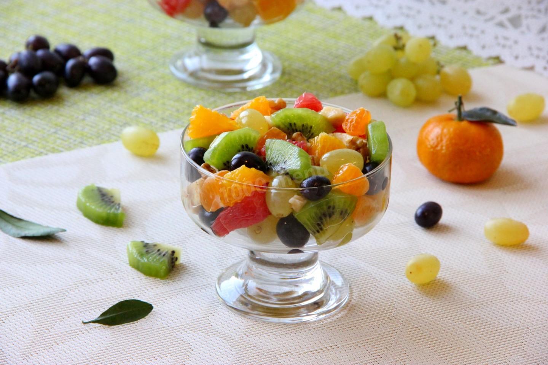 появилась так креативный фруктовый салат фото рецепт что