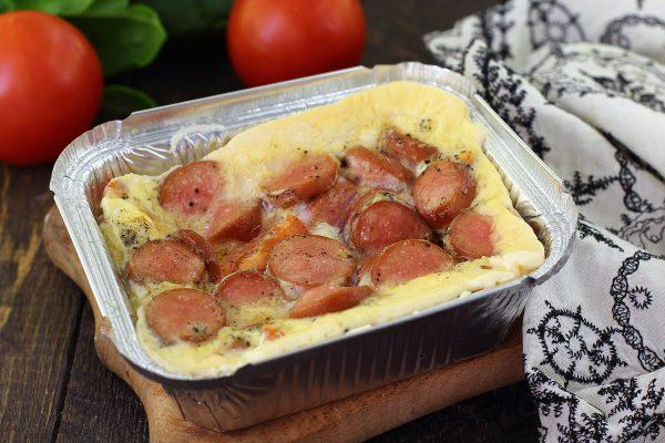 omlet-s-sosiskami-v-duxovke