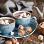 Горячий шоколад с медом и корицей