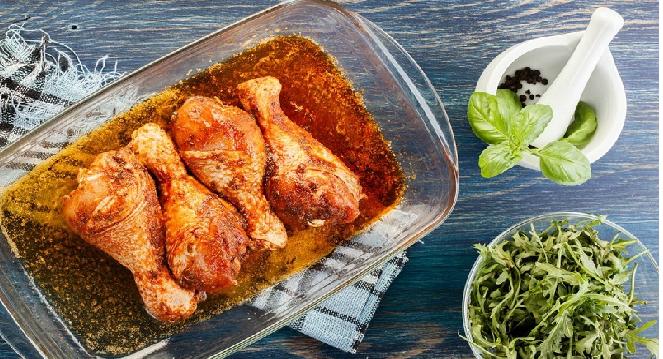 6 вариантов отменного маринада для курицы в духовке