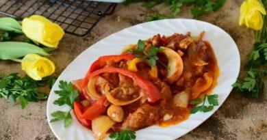 Свинина с Овощами По- Цыгански - лучше блюда для семейного обеда и не придумаешь.