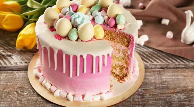 Бисквитный торт с кремом