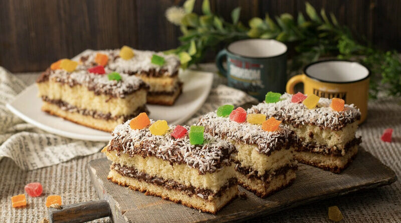 Двухслойные пирожные - искушение на стыке текстур