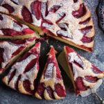 Баварский пирог со сливами - попробовав раз, вы не сможете не печь его снова и снова!