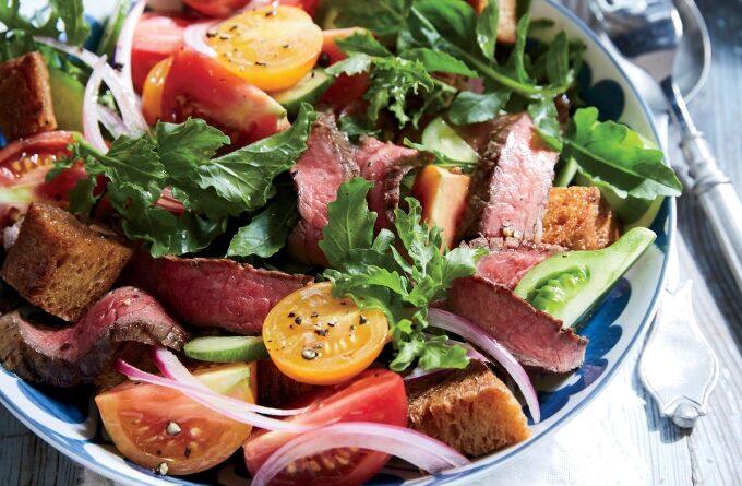 salat-s-myasom-i-ovoshami