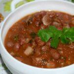 Лобахашу — это армянская версия супа с красной фасолью.