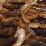 Баклажаны жаренные с луком как грибочки по французки