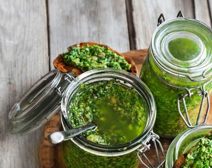 Тот самый укропный соус на зиму с чесноком, маслом и хитростями, запишите рецепт обязательно! Готовлю 5 лет – его всегда мало!