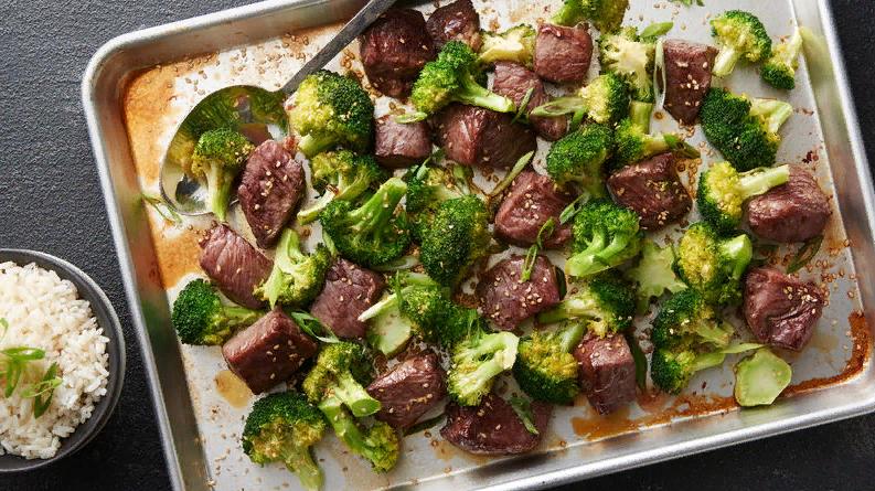 Ужин всего за 25 минут! Рецепт говядины с брокколи в азиатском стиле